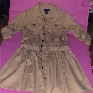 Ralph Lauren Khaki Dress